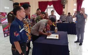 Polres Barito Timur Canangkan Pembangunan Zona Integritas
