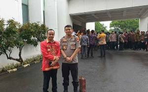 Bupati Seruyan Hadiri Rakornas Karhutla di Istana Negara