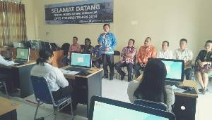 Wakil Bupati Lamandau Motivasi Peserta Tes SKD CPNS