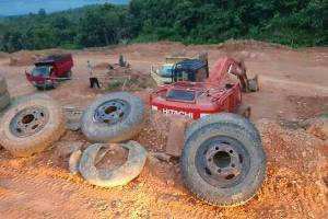 Penegak Hukum Diminta Tindak Usaha Galian C Perkebunan Sawit di Mentaya Hulu