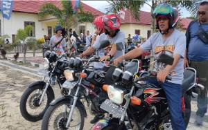 Wakil Bupati Sukamara Promosikan Makanan Khas Sukamara Kepada Peserta Jambore Daerah YRKI