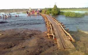 Sejumlah Jalan di Tasik Payawan Katingan masih Tergenang Banjir