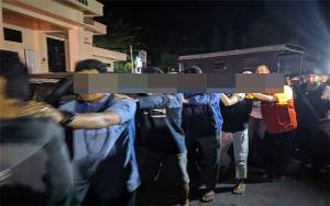 Polres Kotim Bergerak Cepat Ringkus 8 Pelaku Pengeroyokan