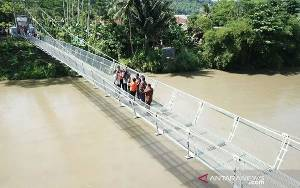 Kementerian PUPR Gelontorkan Rp710 Miliar Bangun 148 Jembatan Gantung