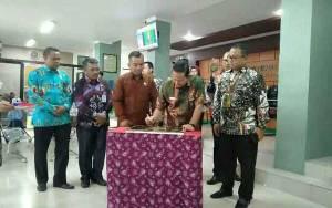 Tiga Layanan Publik Pengadilan Negeri Sampit Diluncurkan
