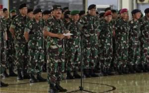 Inilah Daftar 41 Perwira Tinggi TNI Naik Pangkat