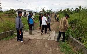 Jalan Poros Tanggul Harapan Akan Diusulkan Perbaikan ke Kabupaten Seruyan
