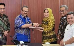 Usulkan Kegiatan Pengelolaan SDA, Bupati Kobar Temui Pejabat di Kementerian PUPR