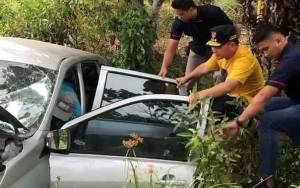 Gubernur Kalimantan Tengah Sigap Bantu Korban Kecelakaan Beruntun 3 Mobil dan 1 Truk di Kotawaringin Timur