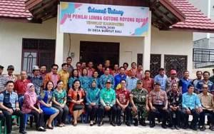Kecamatan Pulau Malan Siapkan Desa Hadapi Lomba Gotong Royong Tingkat Kabupaten Katingan