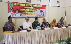 Bupati Edy Pratowo Hadiri Musrenbang Kecamatan Jabiren Raya