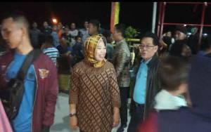 Bupati Kobar Buka Pasar Hamalem Mangkeme di Kampung Sega Kelurahan Mendawai