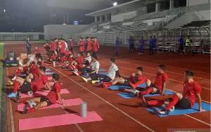 Shin Tae-Yong Fokus Pemulihan Kondisi Pemain di Latihan Perdana Timnas