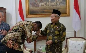 DPRD Palangka Raya Temui Wakil Presiden, Ini yang Dibahas