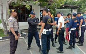 Satuan Binmas Polres Kapuas Aktif Bina Satpam