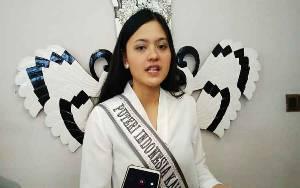 Putri Indonesia Perwakilan Kalteng 2020 Minta Dukungan Masyarakat
