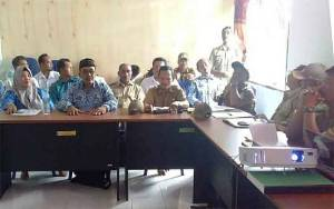 Kecamatan Tamban Catur Rakor Lintas Sektor Pra Musrenbang
