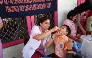 Yayasan Kemala Bhayangkari Kotawaringin Barat Beri Layanan Kesehatan Gratis di Hari Ulang Tahun YKB