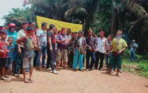 Persoalan dengan PT HMBP 2, Warga Desa Penyang Minta Bantu Gubernur Kalteng Lepaskan 2 Warga Ditangkap Aparat