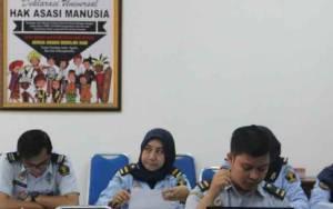 Kanwil Kemenkumham Kalteng Gelar Bimtek Pelayanan Sistem Informasi Manajemen Pengawasan Internal