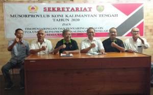 Eddy Raya Samsuri dan Sanco Penuhi Syarat Calon Ketua KONI Kalteng