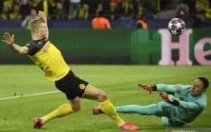 Dwigol Haaland Bawa Dortmund Tundukkan PSG