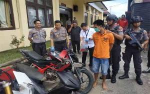 Pencuri Motor di Seruyan Tengah Ditangkap