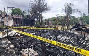 Kebakaran, Kapolsek Murung : Jangan Sepelekan Listrik