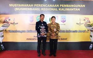 Wakil Bupati Barito Utara Hadiri Musrenbang Regional Kalimantan Tahun 2020 di Pontianak