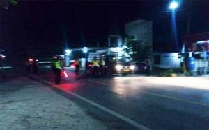 Satlantas Polres Barito Utara Tilang 19 Pengendara saat Razia di Kelurahan Jingah
