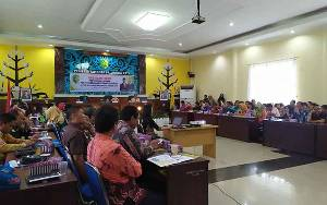 Pemko Palangka Raya Gelar Bimbingan Teknis Laporan Penyelenggaraan Pemerintah Daerah
