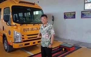 Dishub Barito Selatan Dapat Bantuan Bus Sekolah dari Kementerian Perhubungan