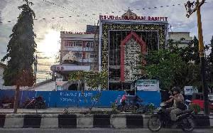 Pembangunan RSUD dr Murjani Sampit Sudah Mendekati 90 %