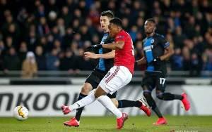 Martial Cetak Gol Penting Saat United Hadapi Brugge