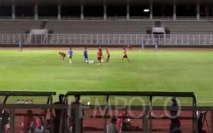Timnas Indonesia Dikalahkan Persita 4-1, Ini Kata Iwan Bule