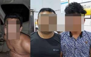 3 Pencuri Motor Ditangkap Resmob Polres Kotim