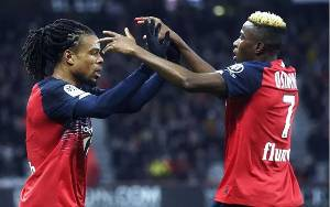 Loic Remy dan Renato Sanchez Antar Lille Atasi Toulouse