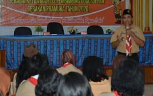 Dinas Pendidikan Kapuas Gelar Orientasi Peran Kepala Sekolah dalam Pembimbing Gerakan Pramuka