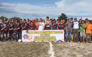 Turnamen Sepakbola Lurah Padang Cup I Resmi Digelar