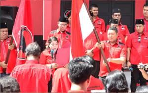 Pengurus Ranting PDIP Kecamatan Pahandut, Jekan Raya dan Sebangau Dilantik