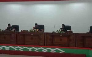 DPRD Barito Selatan Rapat Paripurna Pidato Pengantar Bupati Terkait 5 Raperda