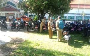 BPKAD Barito Selatan Cek Fisik Kendaraan Dinas