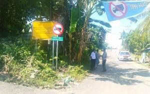 Kendaraan Roda 6 dan Lebih Dilarang Melintas di Jalan H Koyem dan Jalan Wonorejo