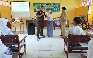Siswa SMKN 2 Kapuas Murung Antusias Ikuti Program Jaksa Masuk Sekolah
