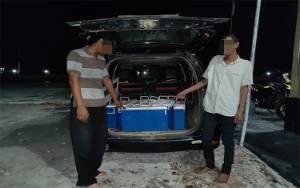 Dua Pencuri Baterai Tower Indosat di Desa Ujung Pandaran Diringkus Polisi
