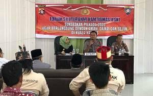 Polres Kapuas Gelar Forum Silaturahmi Kamtibmas Sukseskan Pilkada 2020