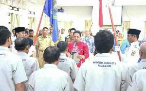 Pengurus PWI Barito Utara Periode 2019 - 2022 Dilantik
