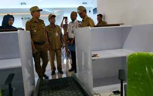 Bupati Barito Utara Dorong Sertifikat Bandara