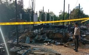 Tiga Rumah Warga Dusun Luwir Hangus Terbakar