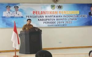 Bupati Barito Utara: Media Pers Merupakan Rekan dan Bagian Penting Salurkan Informasi